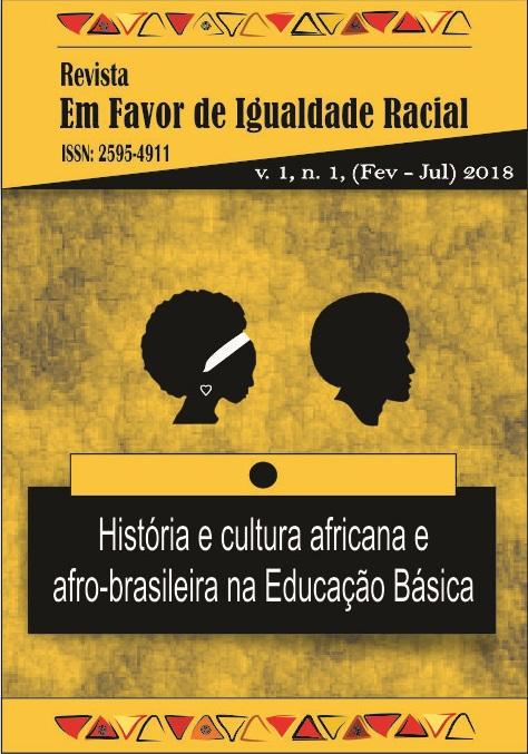 Visualizar v. 1 n. 1 (2018): História e Cultura Africana e Afro-Brasileira na Educação Básica