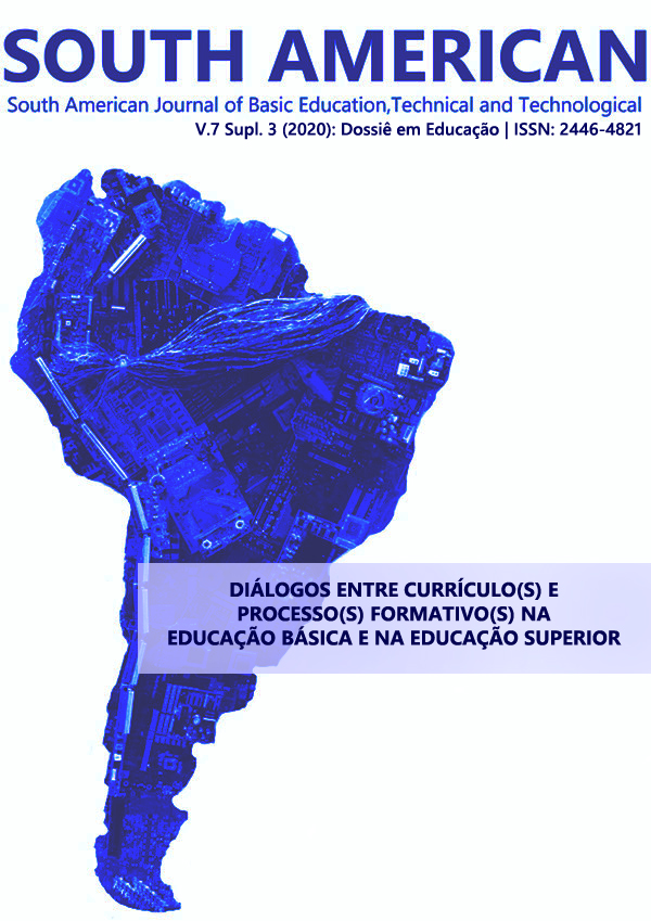 Visualizar v. 7 n. Supl 3 (2020): Dossiê em Educação